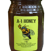 1 Kilogram Raw Fynbos Natural Cape Honey For Sale in South Africa - Glass Bottled - A-1 Honey