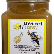 370 Gram Raw Creamed Honey for Sale in South Africa - Order Online - A-1 Honey