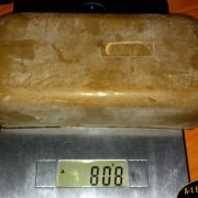 800 Gram Natural Beeswax Brick. Order online in South Africa - A-1 Honey