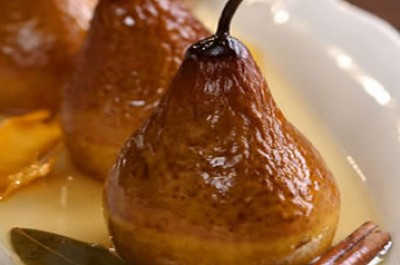 Baked Pears with Raw A-1 Honey Recipe
