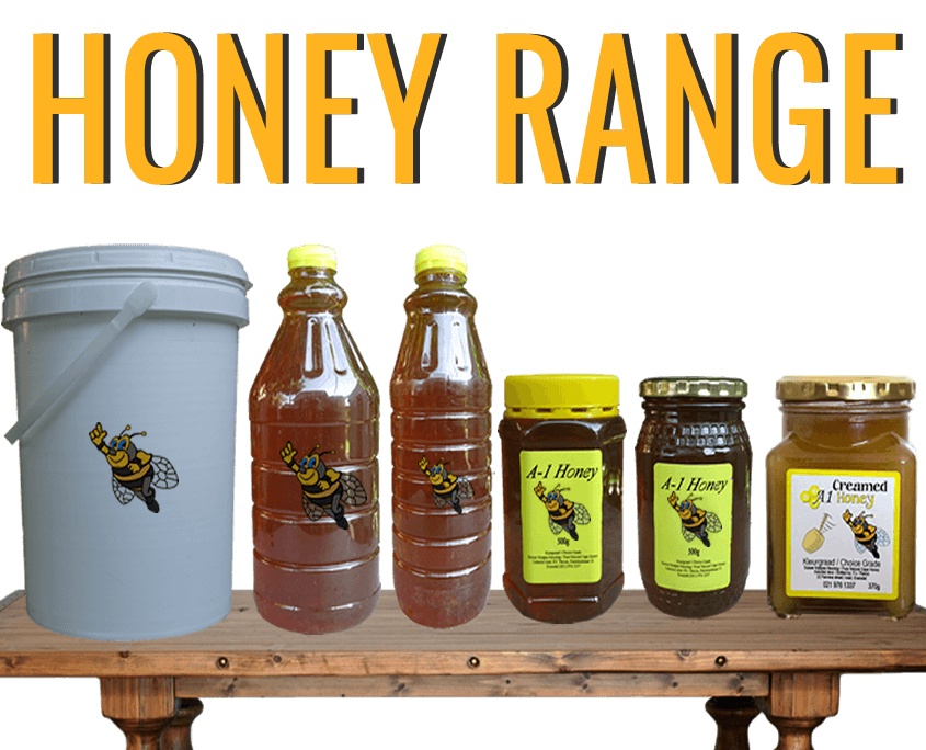 View our range of Raw Cape Honey and order online - A-1 Honey - Honey Supplier in South Africa