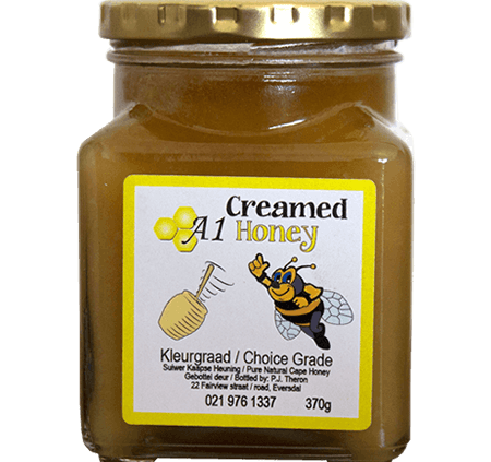 Raw Creamed Honey for Sale in South Africa - A-1 Honey