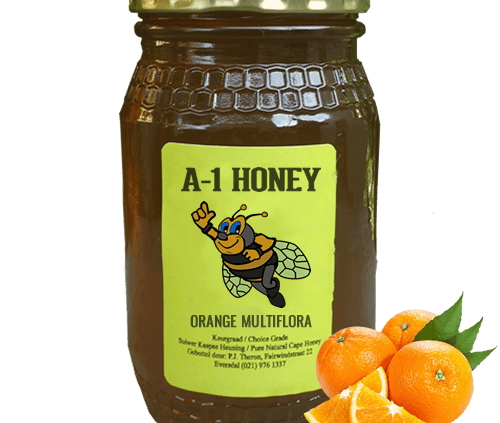 Raw Orange Multiflora Cape Honey For Sale in South Africa - A-1 Honey