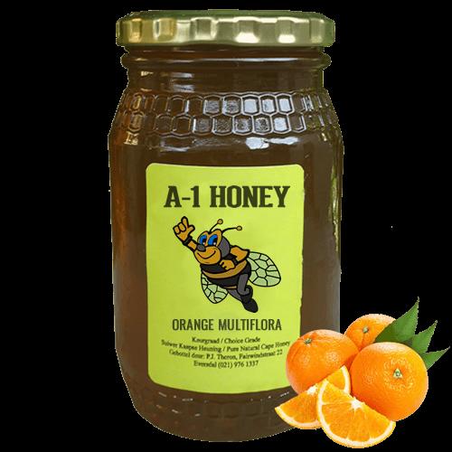 Orange Blossom Raw Cape Honey