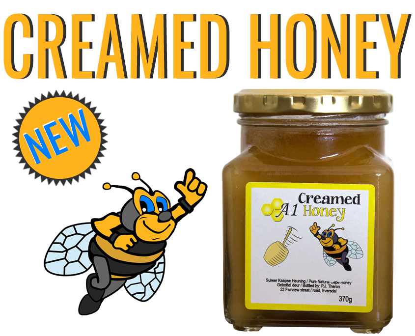 Order Creamed Raw Cape Honey Online in Cape Town - A-1 Honey